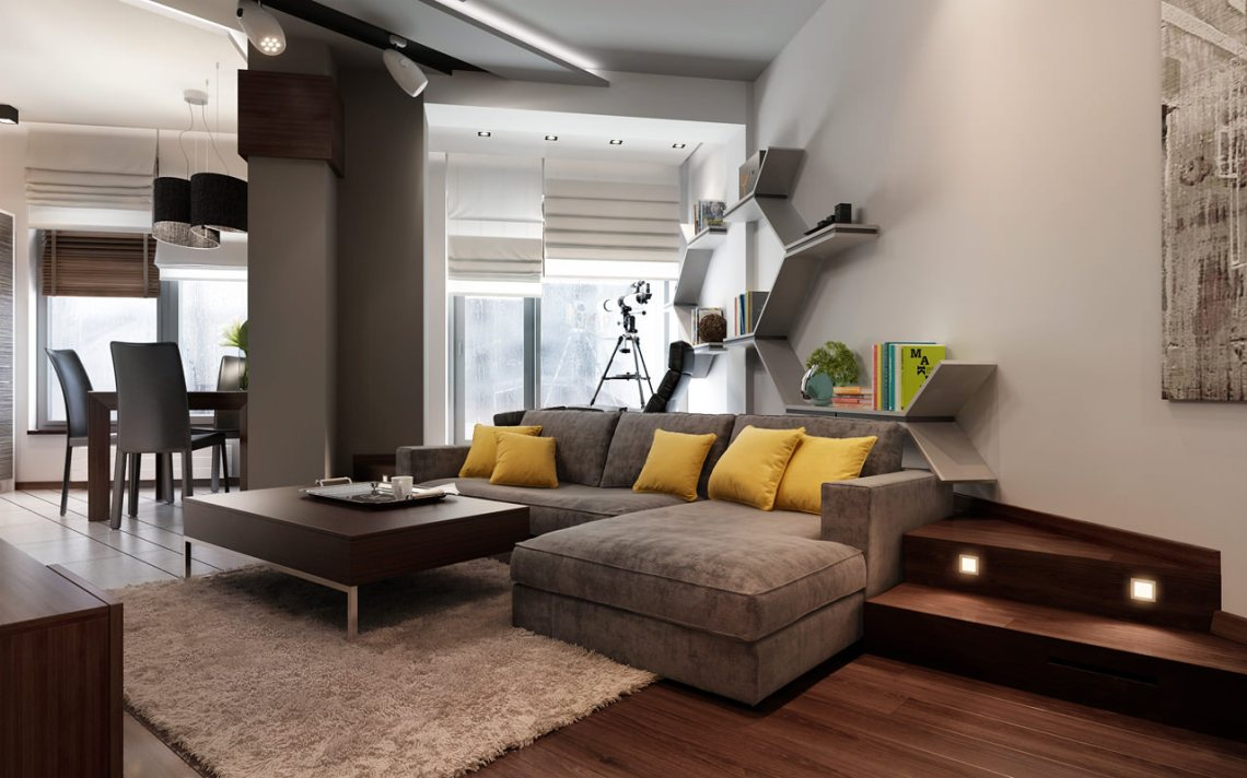 Three Apartments with Extra Special Lighting Schemes ...