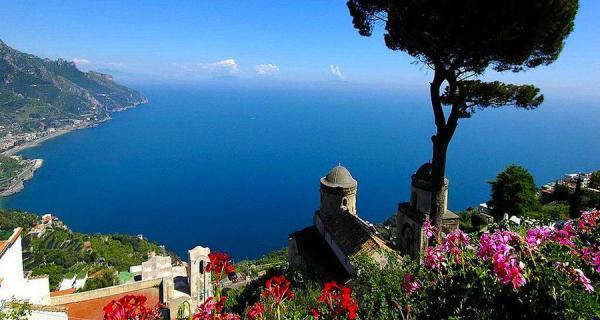 Magic Beauty of Italian Coastal Cities Architecture Design