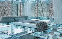 Bedroom Glass House