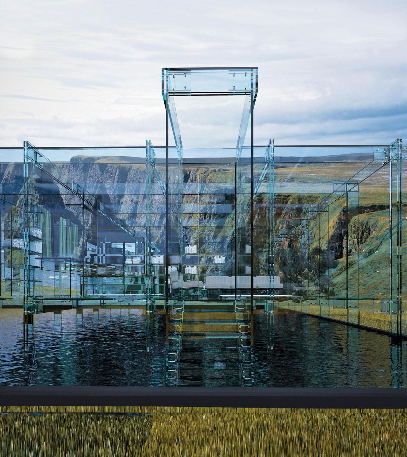 Glass Houses By Santambrogio Milano Architecture Amp Design