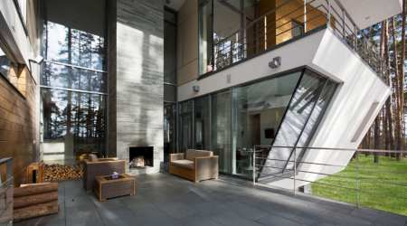 atrium contemporary moscow architects architecture gorki site near situated far west