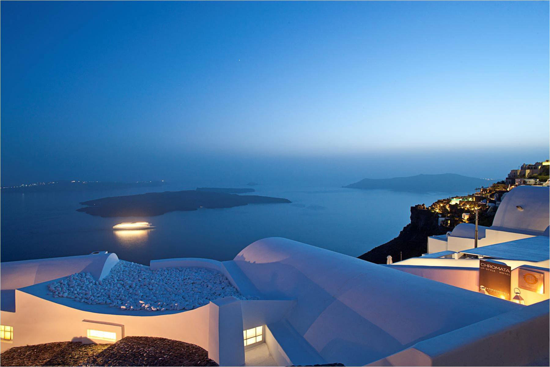 Greece Wallpaper Hd Katikies Hotels In Oia Architecture Amp Design