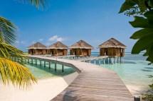 Maldives Bungalows On Water