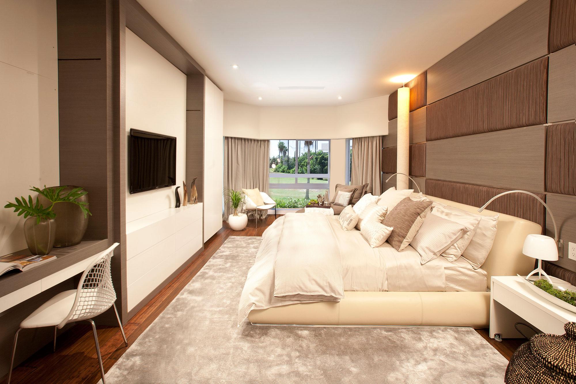 Modern Master Bedroom Interior Design Ideas