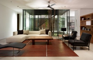 tropical interior living room cove sentosa modern residence ong simple minimalist duplex architecture into designs houses turn rooms floor singapore