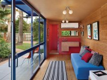 Shipping Containers as Homes Inside