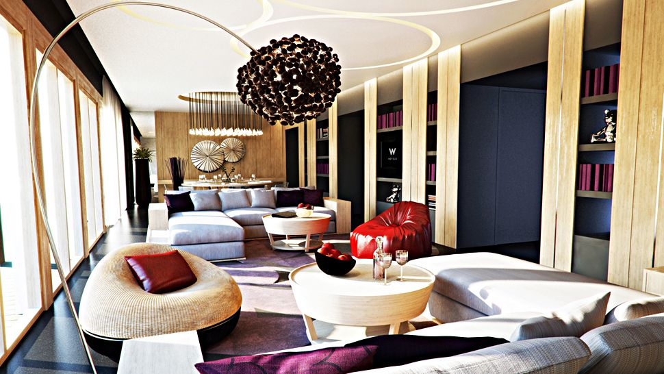 Luxury W Retreat Koh Samui In Thailand Architecture & Design