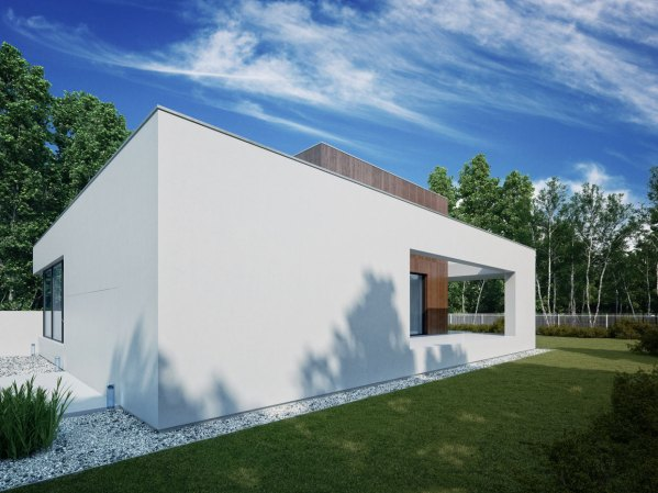 Wooden Cube House 81.waw.pl Architecture & Design