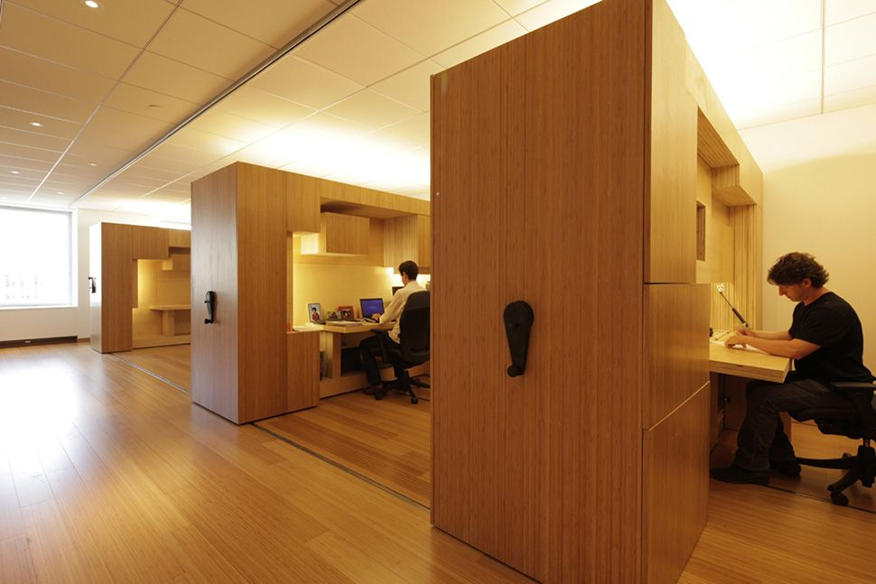 The Coolest Cubicles in the World  Architecture  Design