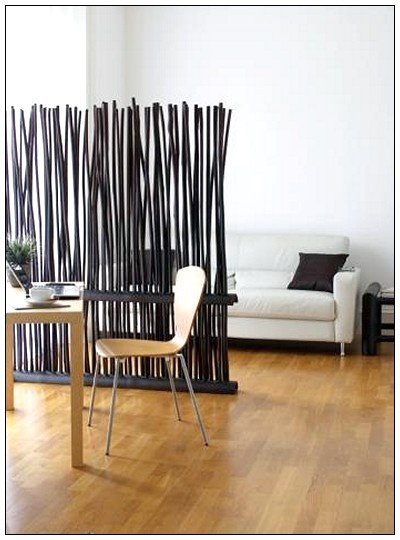 images of living room wall decor decorating black leather couch 25 coolest partition ideas | architecture & design
