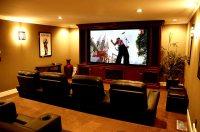 15 Simple, Elegant and Affordable Home Cinema Room Ideas ...