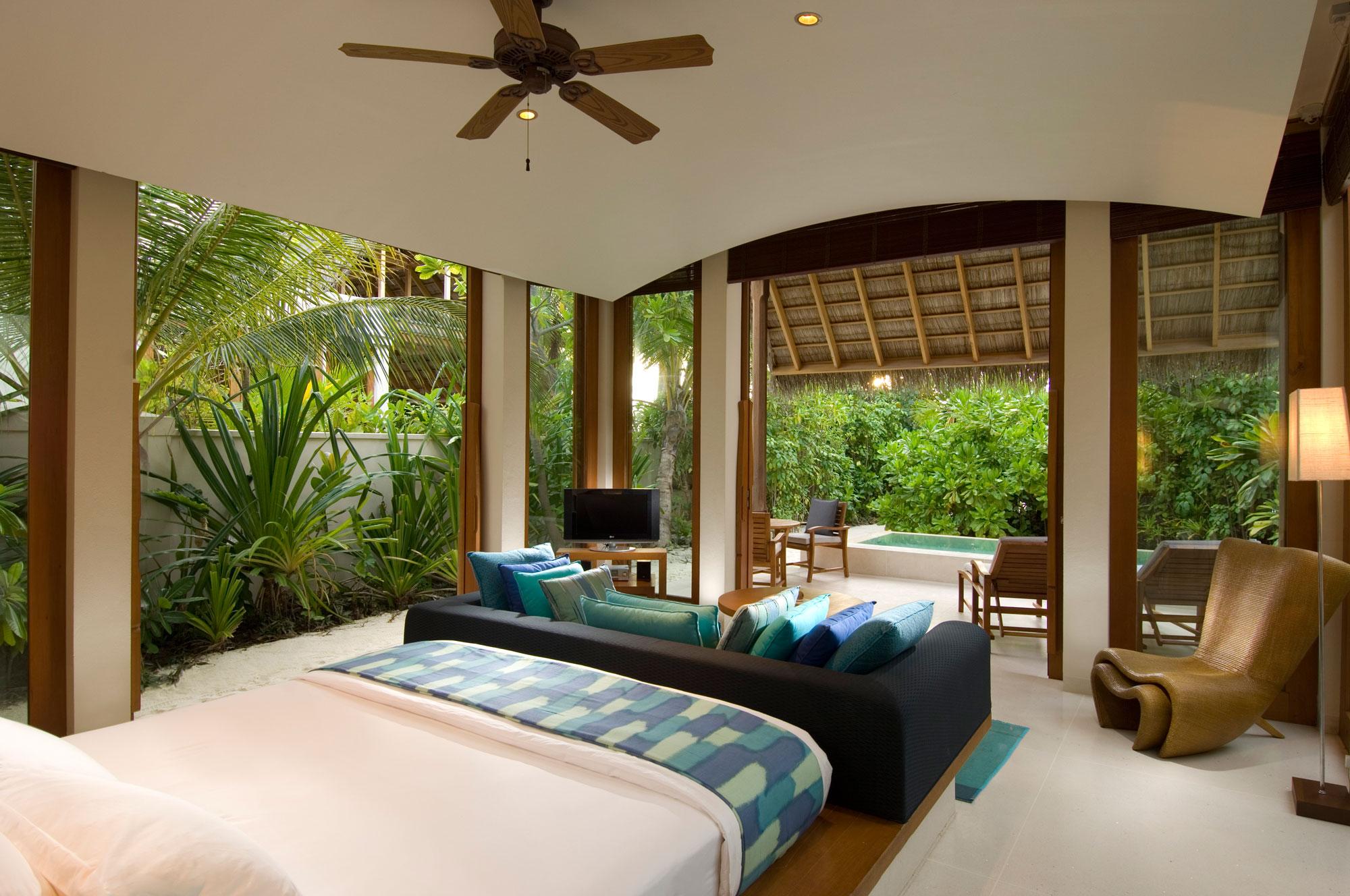 5 Star Conrad Resort in Rangali Island Maldives