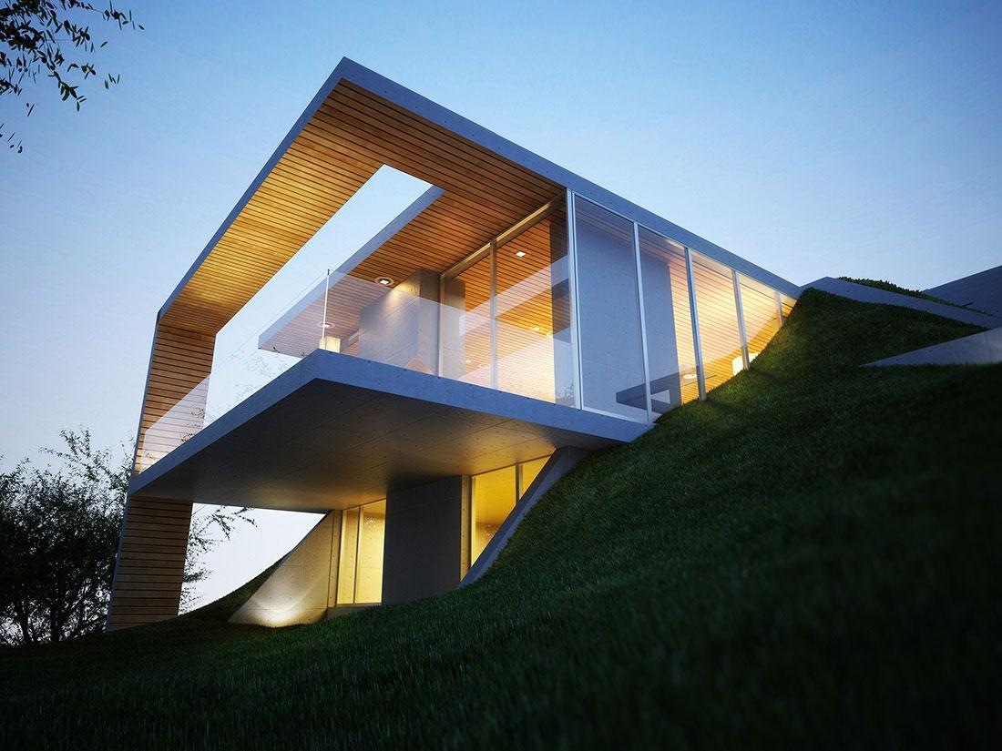 Earth House Project in Tirana Albania