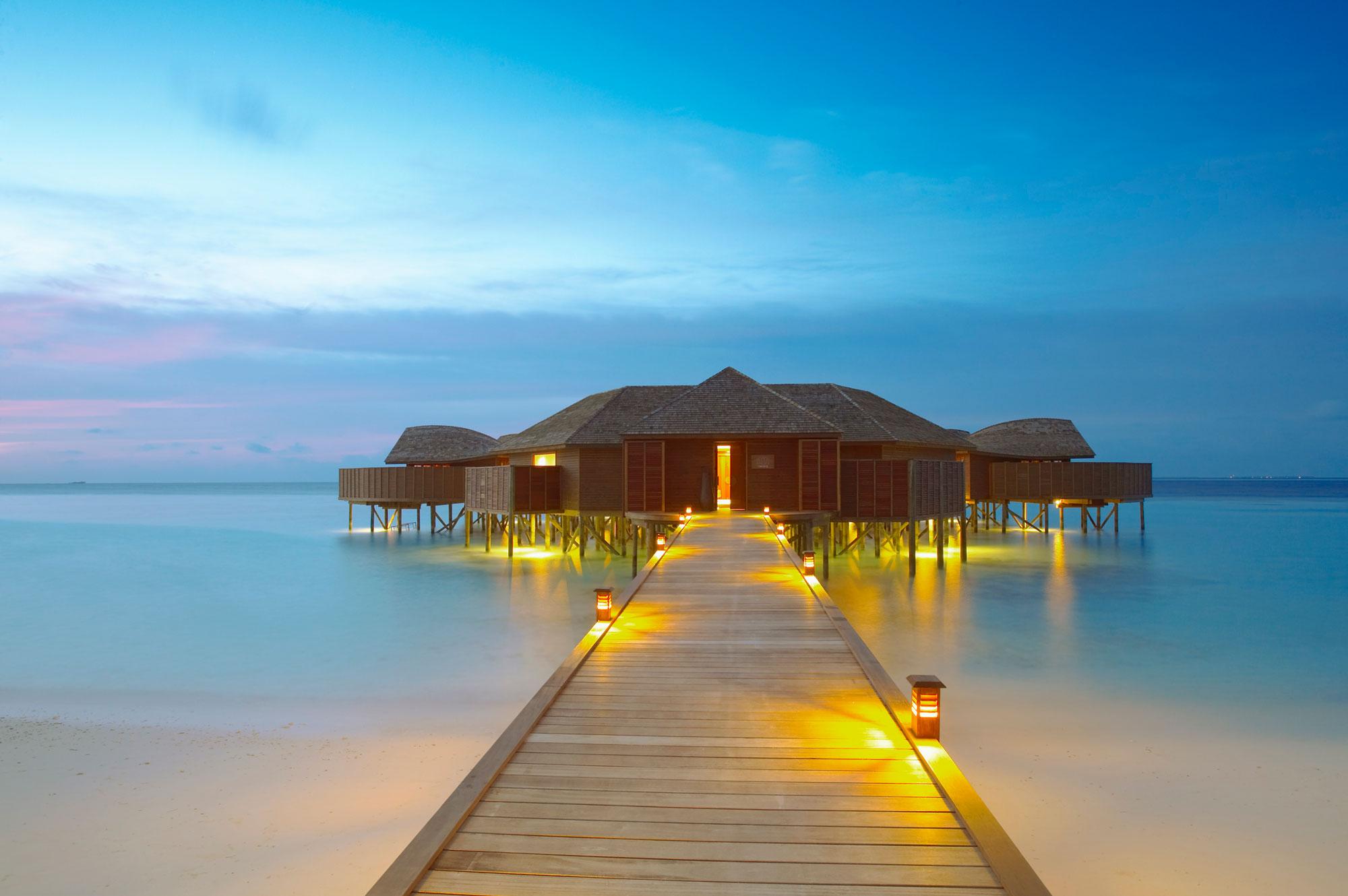 Lily Beach Resort  Spa in Maldives  Architecture  Design