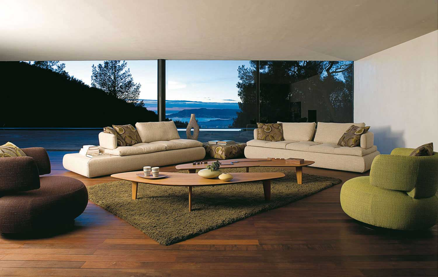 Living Room Inspiration 120 Modern Sofas by Roche Bobois Part 33