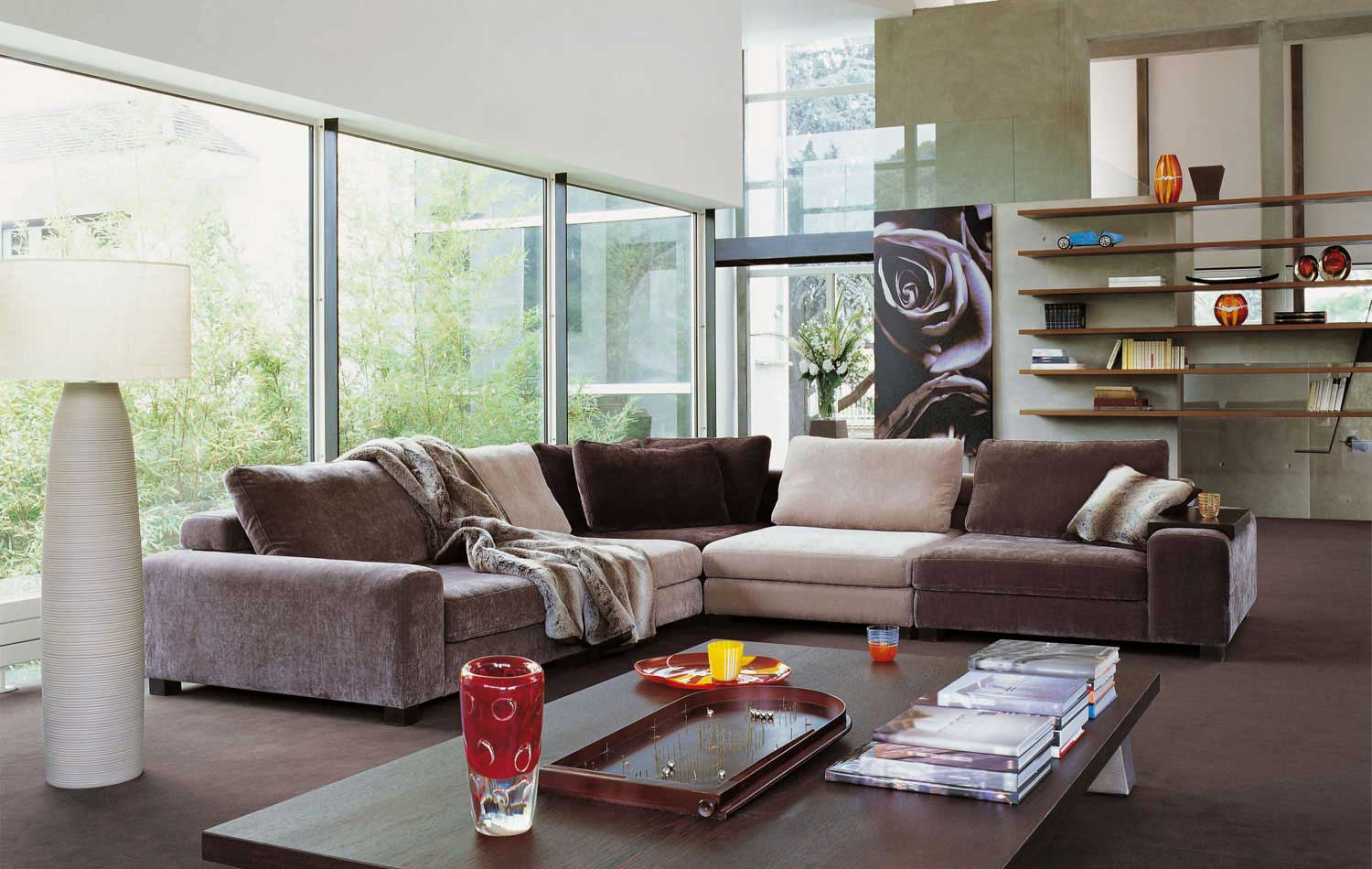 Living Room Inspiration 120 Modern Sofas by Roche Bobois Part 33  Architecture  Design