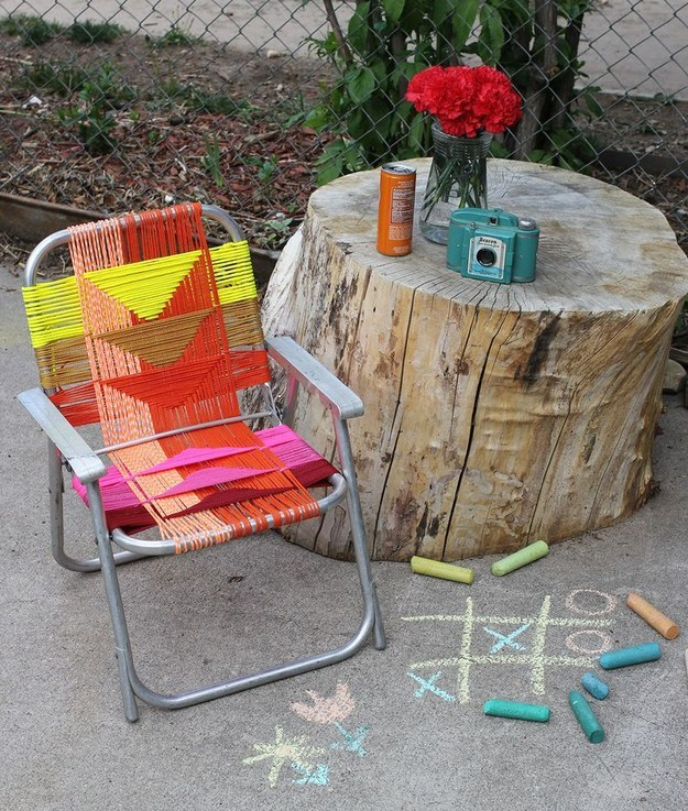 portfolio chair and ottoman collapsible ergonomic 25+ insanely cool backyard furniture diys | architecture & design