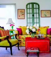 50 Dream Interior Design Ideas for Colorful Living Rooms ...