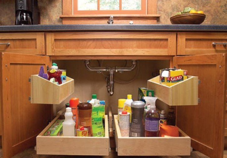 Kitchen Cabinet Storage Ideas For Pots And Pans