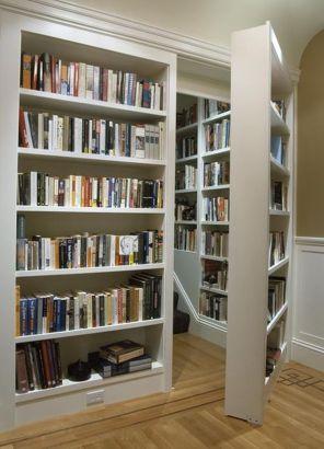 Image result for bookshelf door