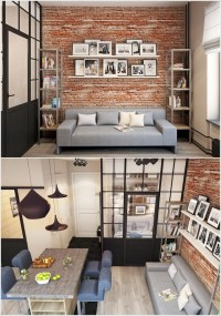 10 Incredible Ideas to Decorate and Spice Up a Brick Wall ...