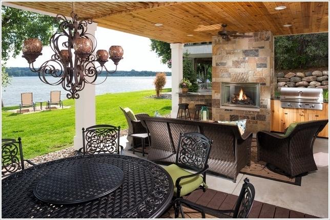10 Amazing Outdoor Barbecue Kitchen Designs