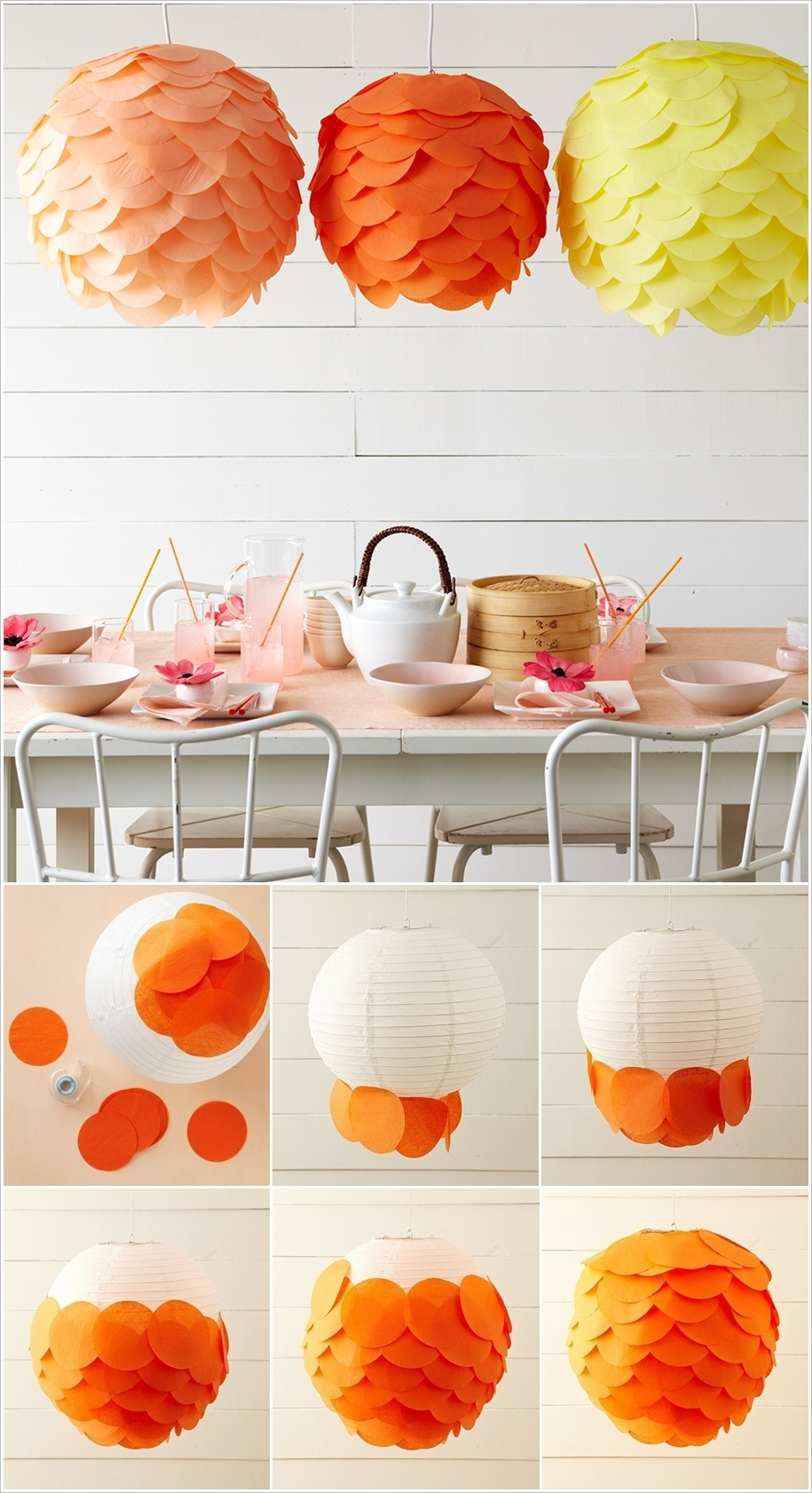 20 Amazing DIY Paper Lanterns And Lamps Architecture Amp Design