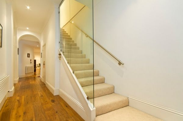 20 Glass Staircase Wall Designs With A Graceful Impact On | Stairs With Glass Sides