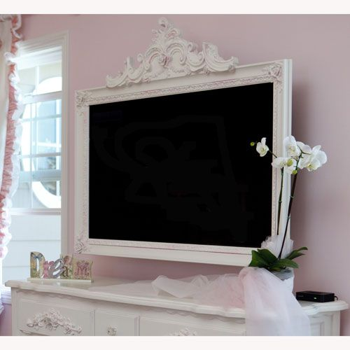9 Awesome DIY Frames for Your Flatscreen TV  Architecture  Design