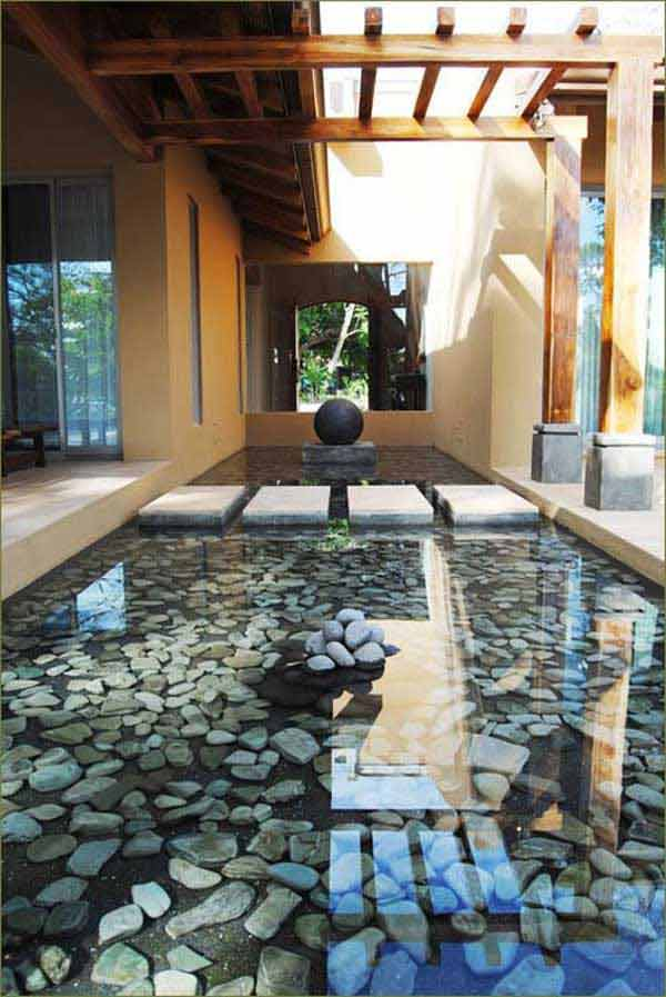 Koi Pond Waterfall