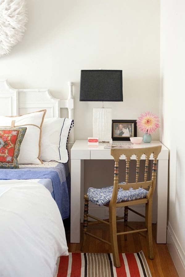 20 Tiny Bedroom Hacks Help You Make the Most of Your Space  Architecture  Design