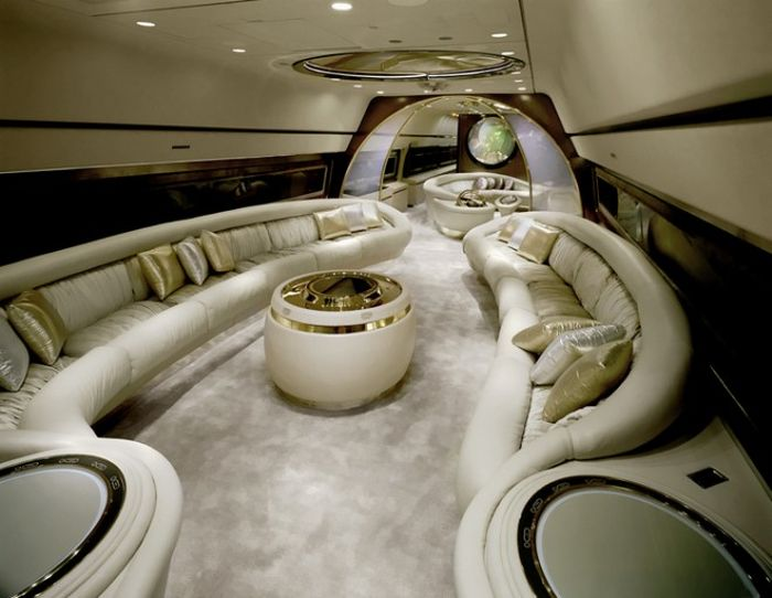 25 Amazing Private Jet Interiors Step Inside The World S