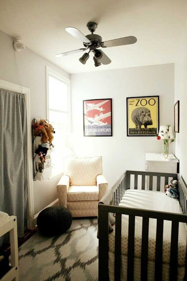 20 StealWorthy Decorating Ideas For Small Baby Nurseries