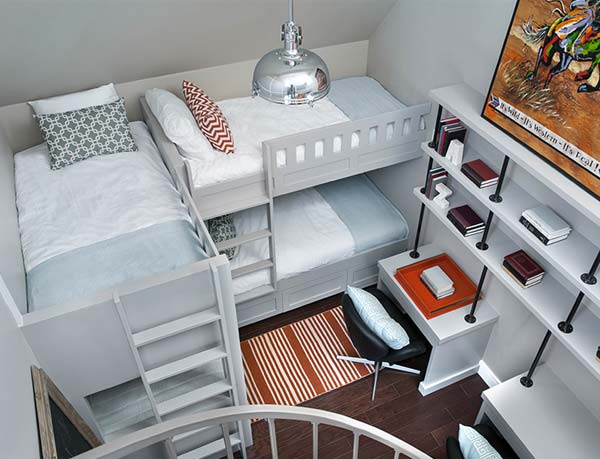 21 Most Amazing Design Ideas For Four Kids Room
