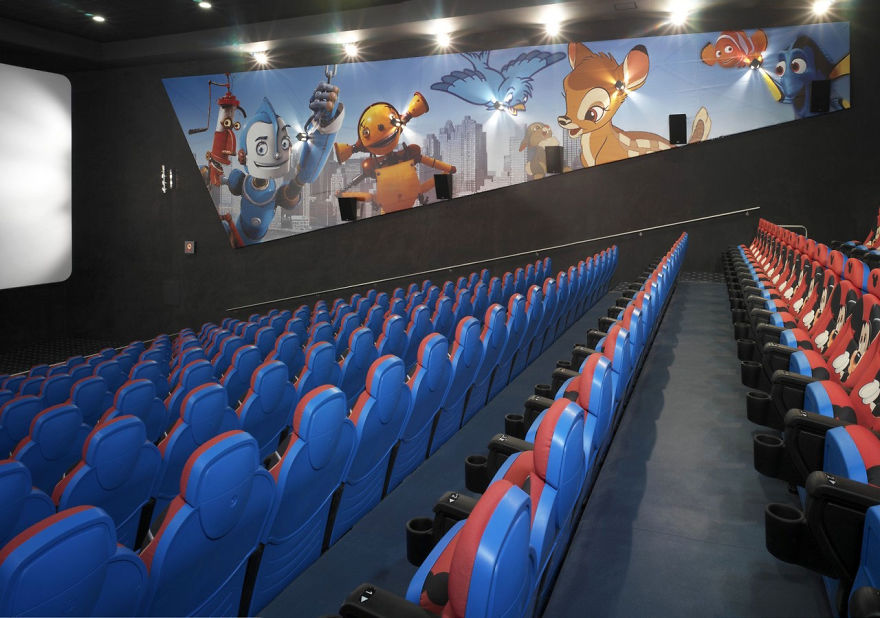 25 Of The Most Beautiful Cinemas Around The World  Architecture  Design