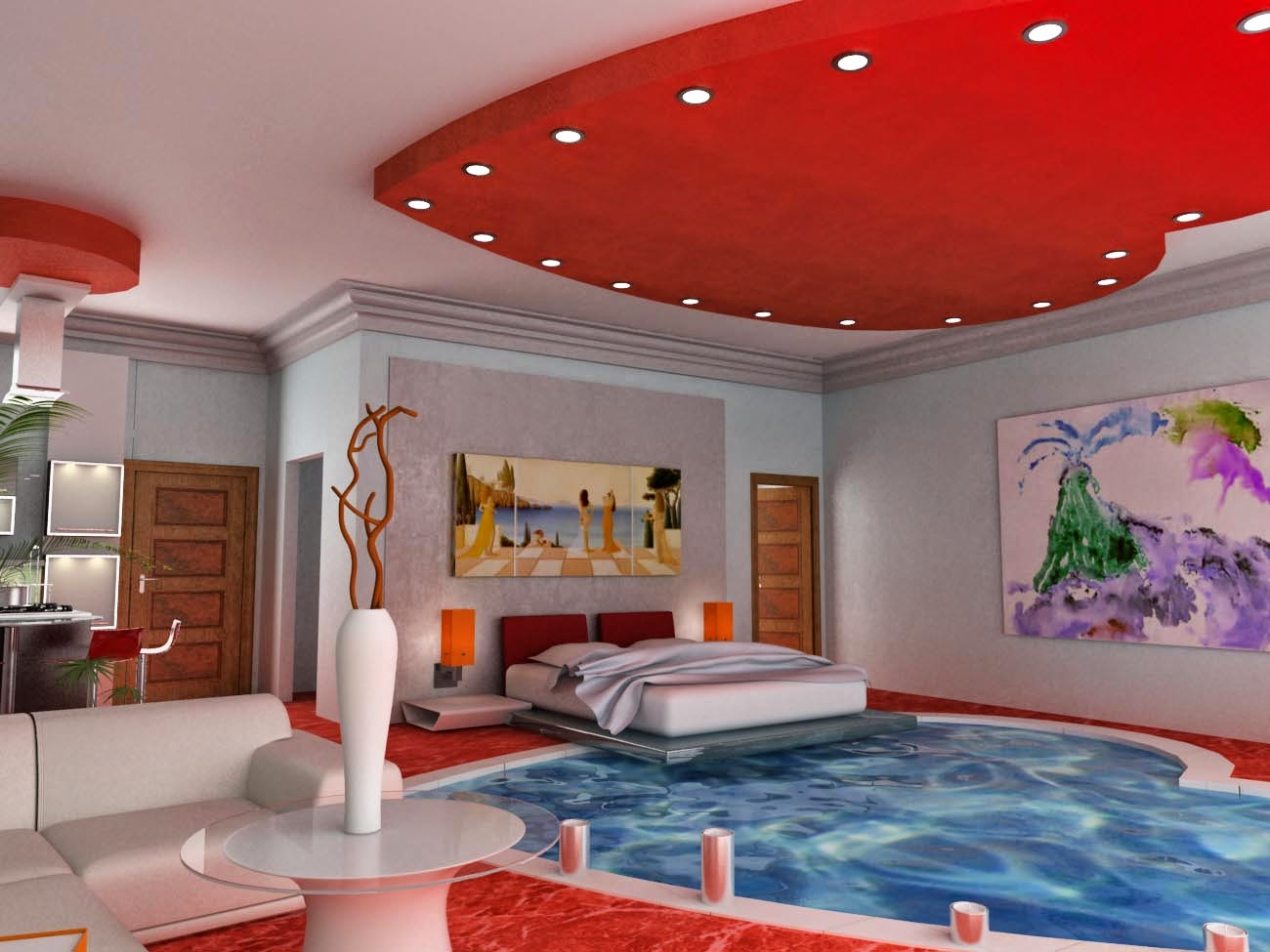 From Pillow To Pool: 25+ Amazing Bedrooms With Pool