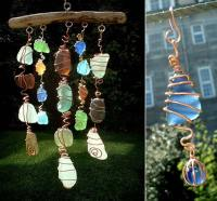 20+ Cute DIY Home Decor Ideas With Colored Glass and Sea ...
