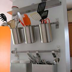 Wall Mounted Kitchen Utensil Holder Cabinet Updates Top 27 Clever And Cute Diy Cutlery Storage Solutions ...