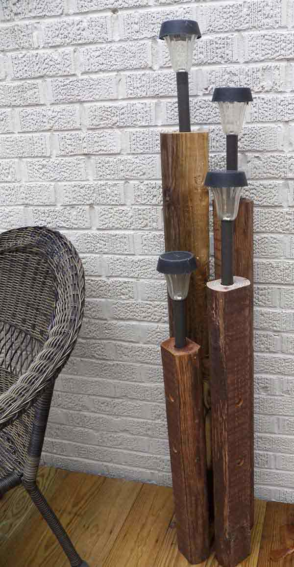 hanging chair stand uk covers chicago 25+ diy reclaimed wood projects for your homes outdoor