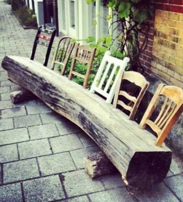 Folding Wooden Garden Chairs