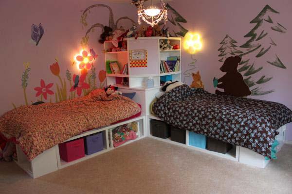 20 Brilliant Ideas For Boy  Girl Shared Bedroom
