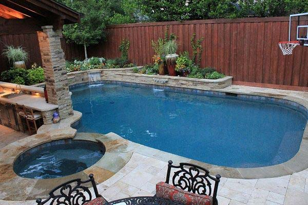 25 Fabulous Small Backyard Designs with Swimming Pool  Architecture  Design