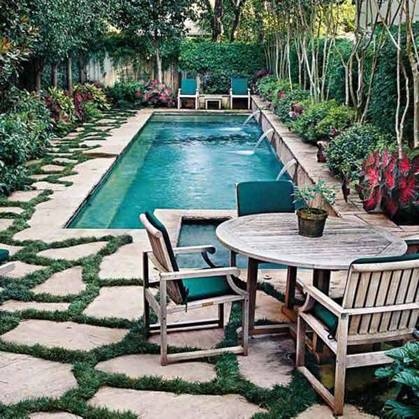 fabulous small backyard design