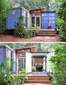 Tiny House Container Homes