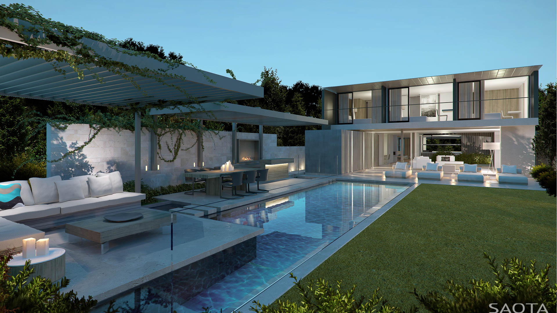 30 Yet to be Built Modern Dream Homes by SAOTA  Part 1  Architecture  Design