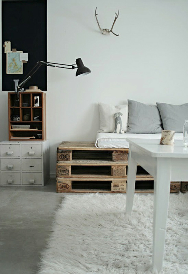 30 Cool Ideas For Homemade Wooden Pallets Furniture