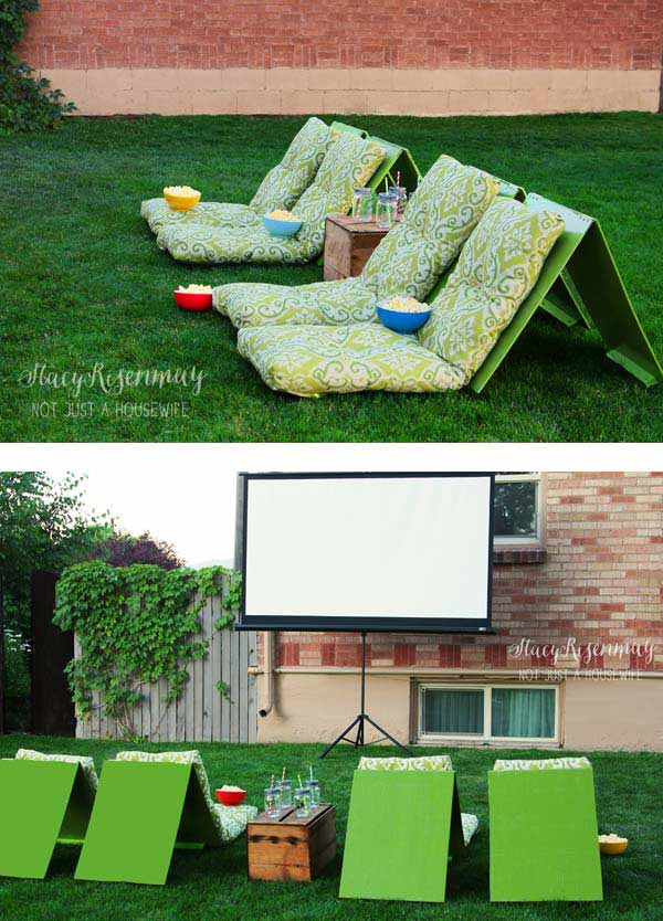 25 Awesome Outside Seating Ideas You Can Make With