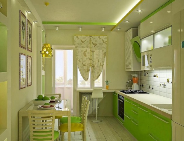 15 Lovely Green Kitchen Design Ideas  Architecture  Design