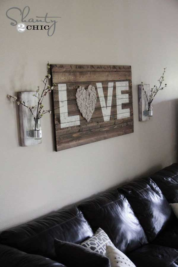 Check out refinery29 for the best bedroom decor ideas! 20+ Recycled Pallet Wall Art Ideas for Enhancing Your Interior