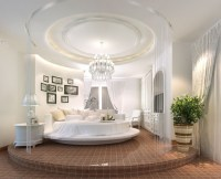 25+ Magnificent & Unique Rounded Bed Bedrooms ...